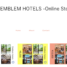 Emblem Hotels' Online Store is now open!
